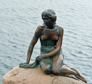 The Little Mermaid Statue by Edvard Eriksen